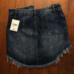 Forever 21 Skirts - Forever 21 Denim Button-down Skirt